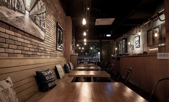 咖啡店装修风格_咖啡店面装修效果图