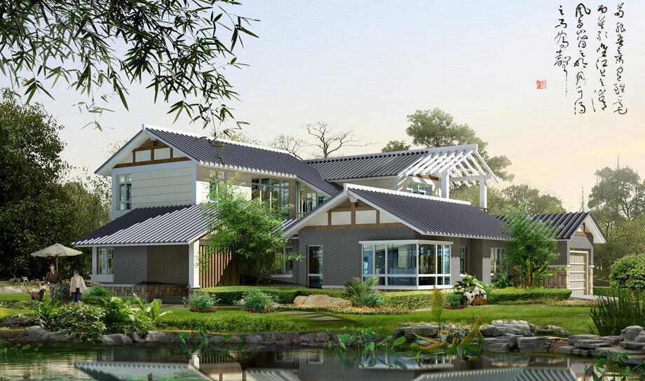 农村一层小别墅设计图图片