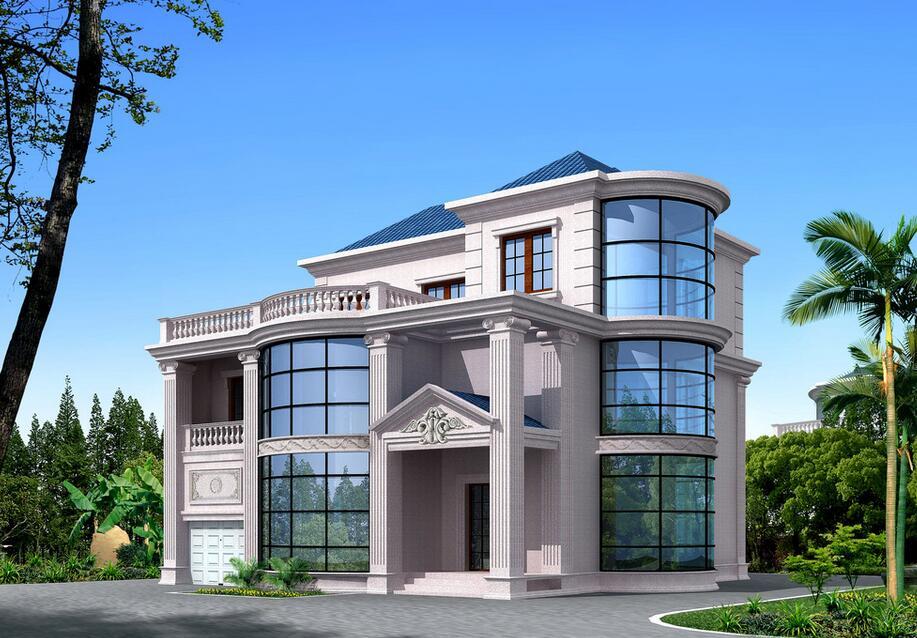 农村别墅设计风水之住宅选址