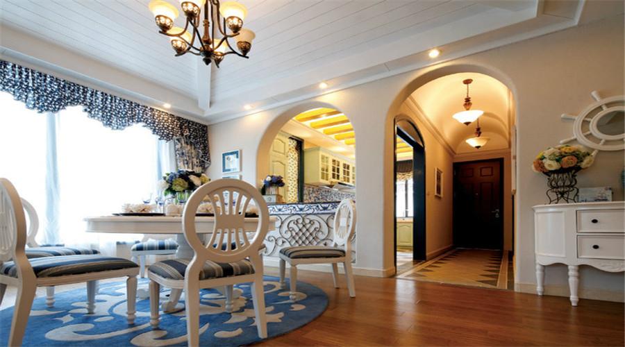 地中海风格别墅设计遍及西班牙,葡萄牙,希腊及法国等欧洲国家,其雪白