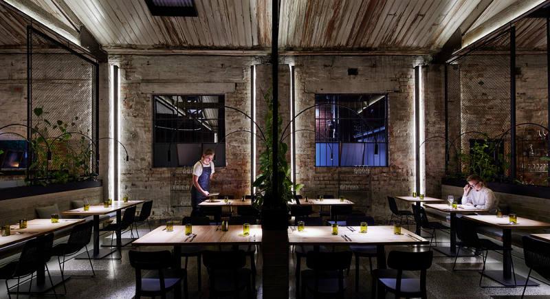 厂房餐厅设计效果图