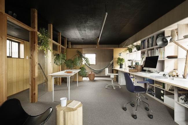 这样的办公室设计,我愿意在里面加班到深夜!