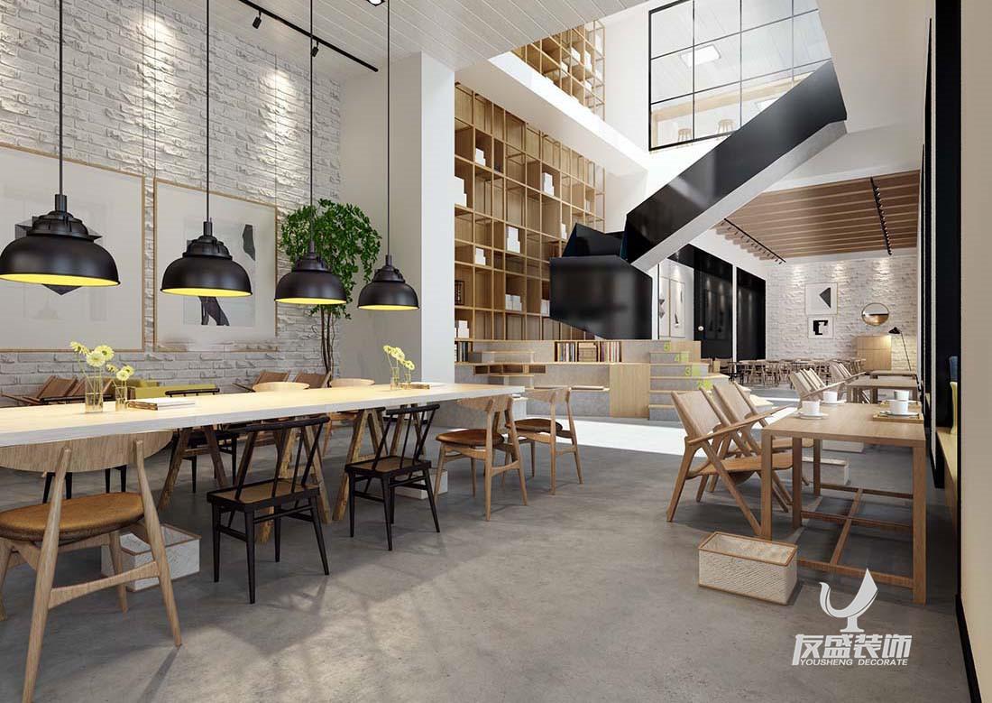 使用简单的颜色和线条,装饰物和家具都以木质为主,简单却又不失文艺