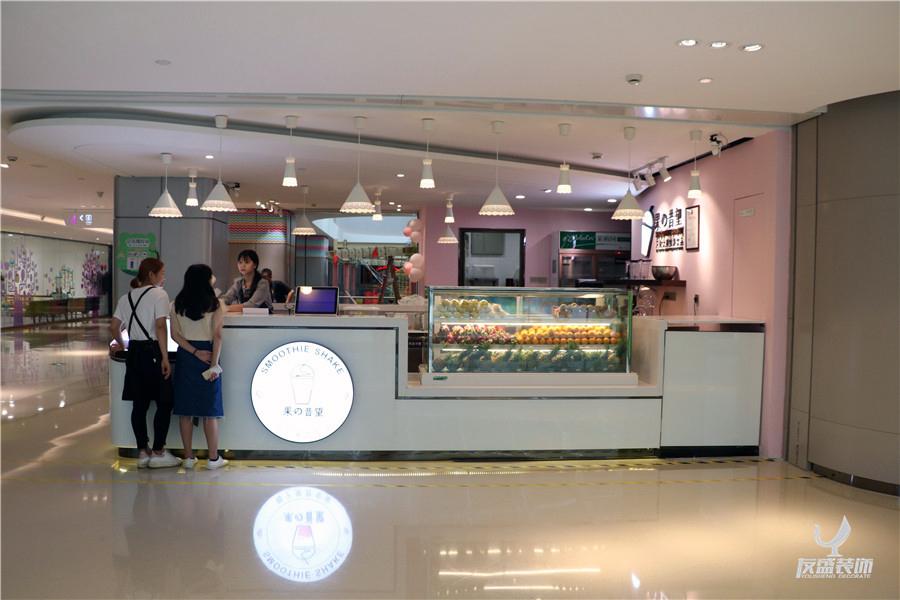 深圳龙华ico星河【果の昔望】_饮品店装修_奶茶店装饰设计