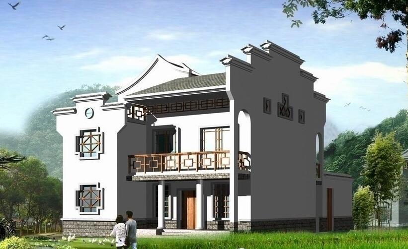 有关10万农村别墅设计图工程的概况